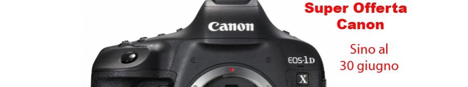 Promozione Canon 1DX Mark II