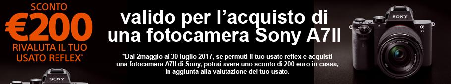 Rivaluta il tuo usato con Sony A7II