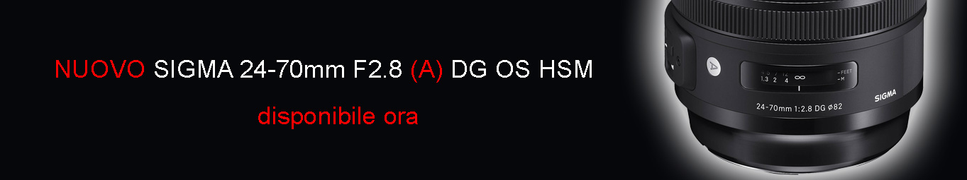 Nuovo Sigma 24-70 Art
