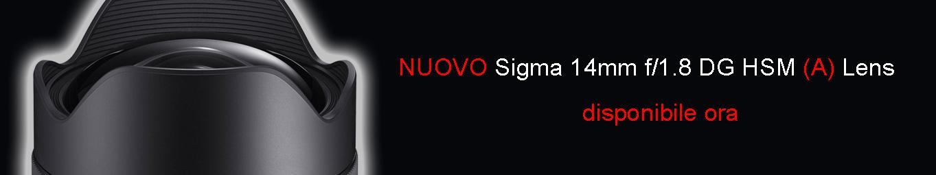Nuovo Sigma 14/1,8 (A) DG HSM