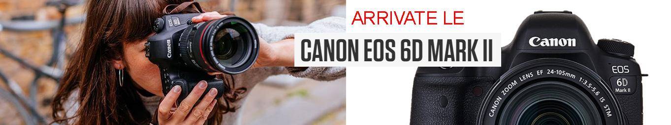 Nuova Canon 6D Mark II