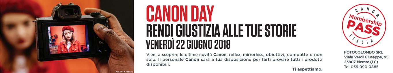 <h3>Canon Day</h3><div>22 giugno</div>