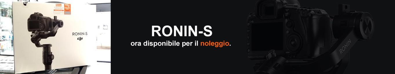 <h3>RONIN-S</h3><div>Noleggiami</div>