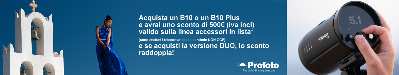 ProfotoB10 e B10 Plus
