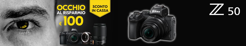 Nikon Z50Sconto in cassa