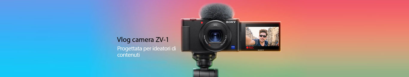 Sony ZV-1Vlog camera