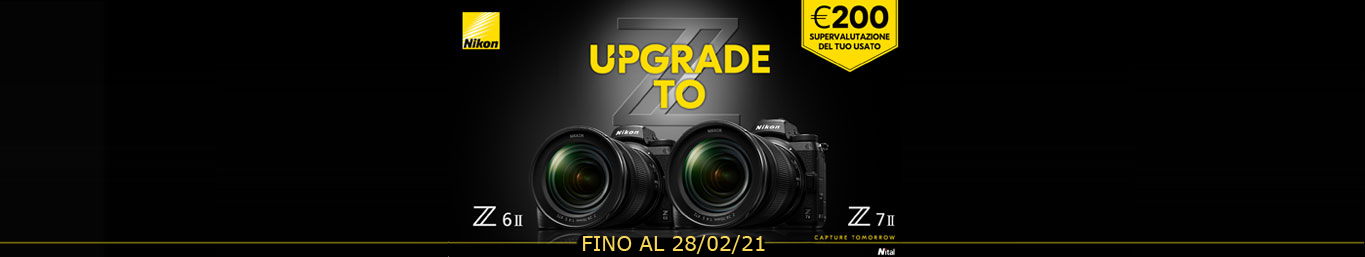 Upgrade ToZ6 II e Z7 II